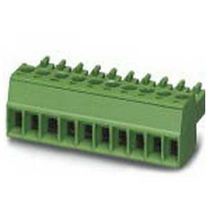 Phoenix Contact Phoenix 1803578 FGRMS31 Printed-Circuit Board Connector; 8 Amp, 160/320 Volt, M2 Screw Connection, 2 Position, Polyamide, Green