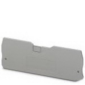 Phoenix Contact Phoenix 3205174 D-QTC 1.5-QUATTRO End Cover; Gray