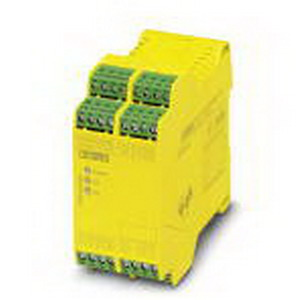 Phoenix Contact Phoenix 2963912 PSR-SCP- 24UC/ESAM4/8X1/1X2 Safety Relay; 210 Milli-Amp AC, 120 Milli-Amp DC Input, 6 Amp Output, DIN Rail Mount