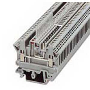 Phoenix Contact Phoenix 3002131 PSR-SCP- 24UC/THC4/2X1/1X2 Feed-Thru Terminal Block; 24 Amp, 250 Volt, Special and Hybrid Connection, 1 Position, NS 32, NS 35/15, NS 35/7.5 DIN Rail Mount, Polyamide, Gray