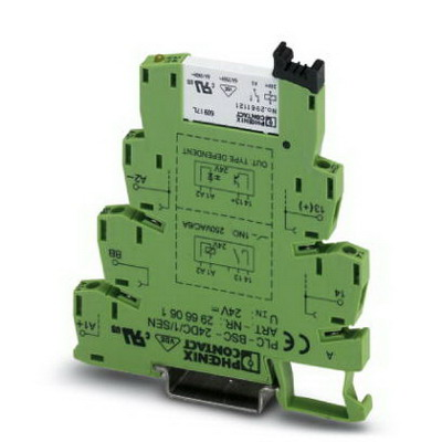 Phoenix Contact Phoenix 2966249 PLC-RSC-120UC/ 1/SEN Relay Module; 3.5 Milli-Amp Input, 120 Volt AC/DC, 110 Volt DC, NS 35/7.5 DIN Rail Mount