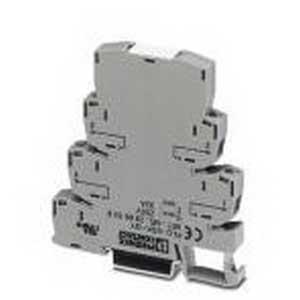 Phoenix 2966508 PLC-RSC-24DC/21 C1D2 Power Terminal Block; 32 Amp, 250 Volt AC, Screw Connection, NS 35/7.5 DIN Rail Mount, Gray