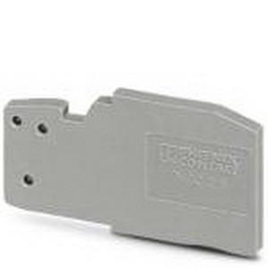 Phoenix Contact Phoenix 3042243 D-SC 2.5 End Cover; Gray