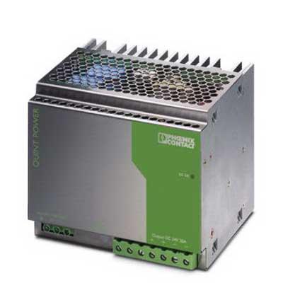 Phoenix Contact Phoenix 2938620 QUINT-PS-100-240AC/24DC/20 Power Supply Unit; 20/26 Amp, 24 Volt DC Output, 1 Phase, Horizontal and NS 35 DIN Rail Mount