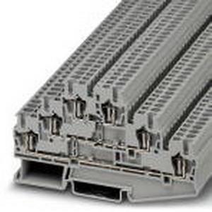 Phoenix Contact Phoenix 3036042 PLC-OSC-120UC/230AC/ 1 Multi-Level Terminal Block; 20 Amp, 500 Volt, Spring-Cage Connection, NS 35/7.5, NS 35/15 DIN Rail Mount, Polyamide, Gray