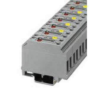 Phoenix Contact Phoenix 3121012 PLC-RSC-120UC/ 1/SEN Ground Disconnect Terminal Block; 41 Amp, 110 Volt, 250 Volt, M4 Screw Connection, Polyamide, Gray