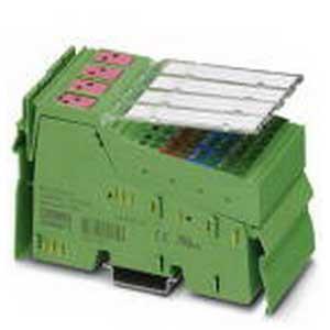 Phoenix 2861289 PR2-RSC3-LV-230AC/4X21AU Inline Terminal; 500 Milli-Amp per Output, 24 Volt DC, DIN Rail Mount
