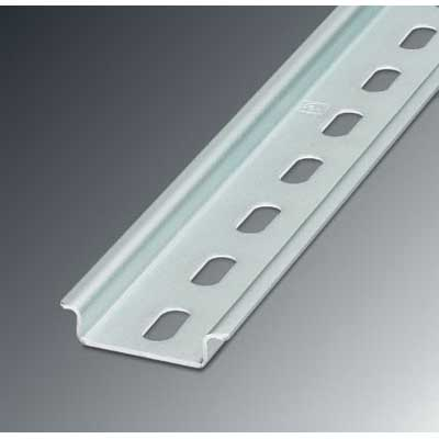 Phoenix Contact Phoenix 0814681 35/ 7.5-AL NS Perforated DIN Rail; 2000 mm Length, Aluminum