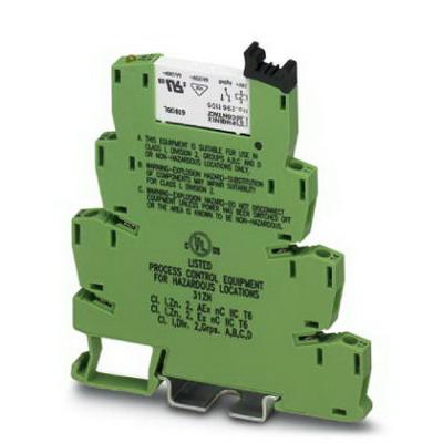 Phoenix 5603157 PLC-RSC-120UC/21 C1D2 Relay Module; 3.5 Milli-Amp At 120 Volt AC, 3 Milli-Amp At 110 Volt DC, 1 Pole
