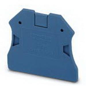 Phoenix 3047235 D-UT 2.5/10 End Cover; Blue