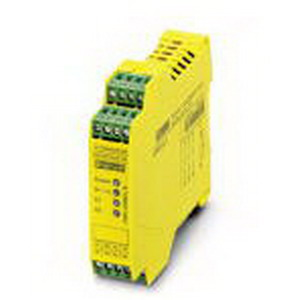 Phoenix Contact Phoenix 2963776 PSR-SCP- 24UC/ESM4/3X1/1X2/B Safety Relay; 140 Milli-Amp AC, 65 Milli-Amp DC Input, 10/6 Amp Output, DIN Rail Mount