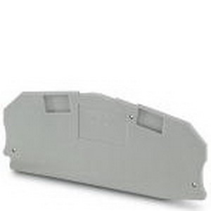 Phoenix 3047426 D-UTME 6 End Cover; Gray