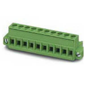 Phoenix Contact Phoenix 1778166 MSTB 2.5/20-STF-5.08 Plug; 20 Position, Green