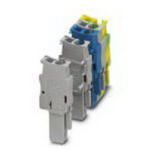 Phoenix Contact Phoenix 3043035 SP 2.5/ 1-L GNYE Plug; 1 Position, Green-Yellow
