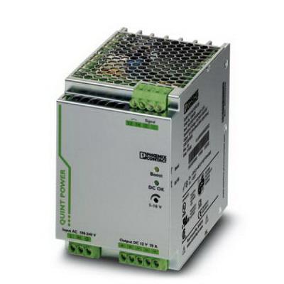Phoenix Contact Phoenix 2866721 QUINT-PS/ 1AC/12DC/20 Power Supply Unit; 20/26/120 Amp, 12 Volt DC Output, 1 Phase, Horizontal and NS 35 DIN Rail Mount