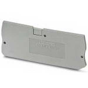 Phoenix Contact Phoenix 3208979 D-PT 4-QUATTRO End Cover; Polyamide, Gray