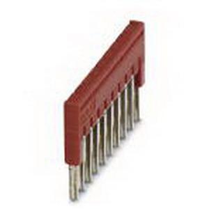 Phoenix Contact Phoenix 3213056 FBS 10-3.5 Plug-In Bridge; 10 Position, Red