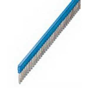 Phoenix Contact Phoenix 3032211 FBS 50-6 Plug-In Bridge; 50 Position, Blue