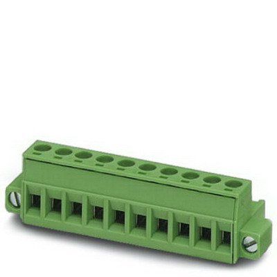 Phoenix Contact Phoenix 1786899 Printed-Circuit Board Connector/Plug Component; 12 Amp, 320 Volt, M3 Screw Connection, 8 Position, Polyamide, Green