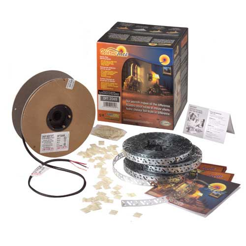 Easy Heat DFT1059 Warm Tiles® Cable Kit; 12 Watt, 120 Volt, Brown