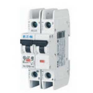 Eaton / Cutler Hammer FAZ-C1.5/2-NA Miniature Circuit Breaker; 1.5 Amp, 277/480 Volt AC, 2-Pole, DIN Rail Mount