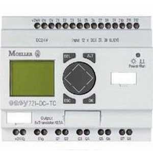 Eaton / Cutler Hammer EASY721-DC-TC 12 Input Programmable Control Relay; 24 Volt DC