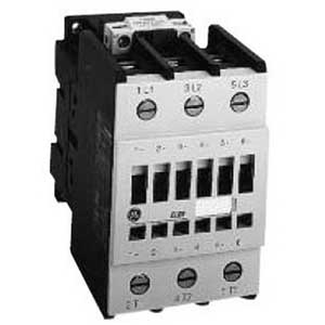 GE Controls CL01A310TJ General Purpose Contactor; 3 Pole, 13.8 Amp At 460 Volt, Horizontal/Vertical Mount