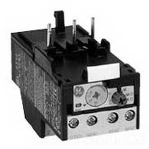 GE Controls RT1T Class 10 Thermal Overload Relay; 70 Amp Fuse, 50 Amp Circuit Breaker, 690 Volt, 3-Pole, Direct Mount