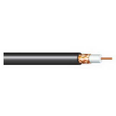 Tappan Wire & Cable 1880AB2/CMR Security and Sound Unshielded Cable; 2, 18 AWG 7/0.0152 Stranded, Bare Copper Conductor, 0.166 Inch Nominal Dia x PVC Jacket, Chrome Gray