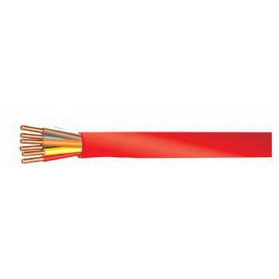 Tappan Wire & Cable 1480BB2/FPLP Fire Alarm Cable; 300 Volt, Bare Copper, 14 AWG