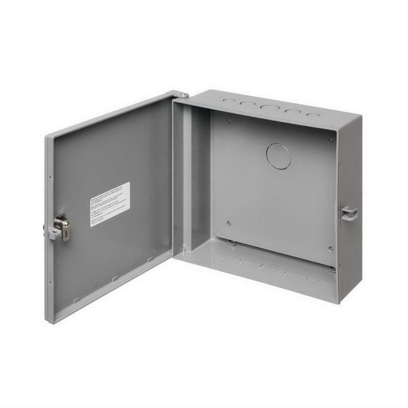 Arlington EB1212BP Equipment Enclosure 12 Inch Width x 4 Inch Depth x 12 Inch Height  Plastic  Gray