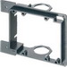 Arlington LVMB2 2-Gang Low Voltage Mounting Bracket; 4.842 Inch Width x 1.900 Inch Depth x 4.158 Inch Height, Horizontal/Vertical Mount, Plastic