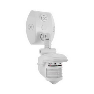 RAB STL360W Stealth® Motion-Activated Security Sensor; 120 Volt AC, White