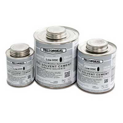 Rectorseal 55909 Arctic™ Medium Body 616L-Series Solvent Cement; 1/2 pt, Clear