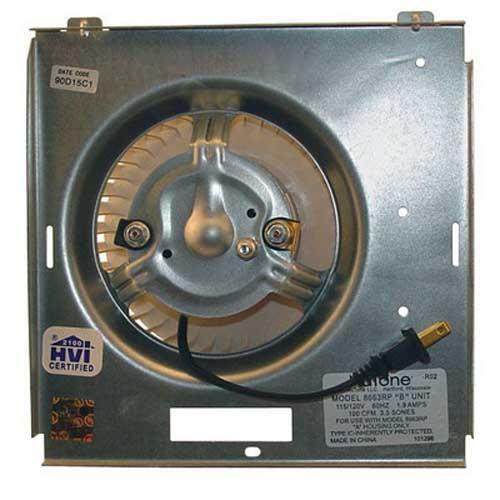 """""Broan Nu-Tone S97017705 Motor Assembly For Broan 8664RP, 750Ventilation Fan,"""""" 385254"