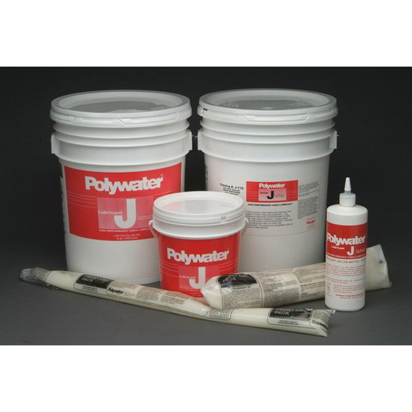 American Polywater J-128 Lubricant; 1 gal Pail Gel, Cream