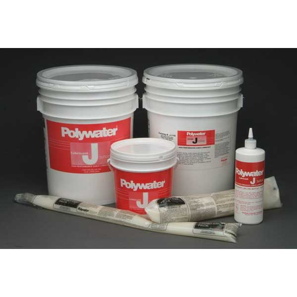 American Polywater WJ-35 Winter Grade High Performance Wire and Cable Pulling Lubricant; 1 qt, Squeeze Bottle, Cream