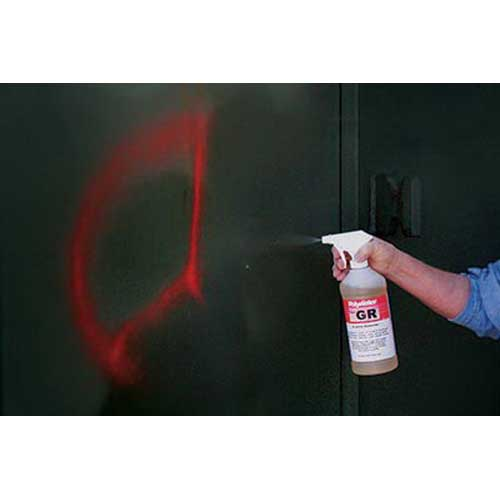 American Polywater GR-35LRP Graffiti Remover; 32 oz Spray Bottle With Scuff Pads