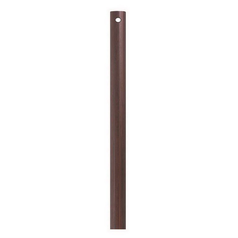 Emerson CFDR1ORB Unthreaded Ceiling Fan Downrod; 1/2 Inch Dia x 12 Inch Length, Oil Rubbed Bronze