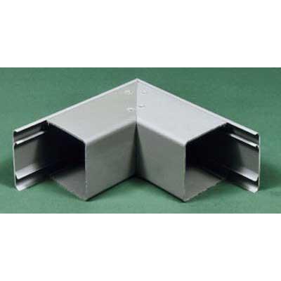 Carlon EGLER Wiresafe® EGLE Model 90 Degree Bend External Cover; 6 Inch x 6 Inch, PVC, Gray