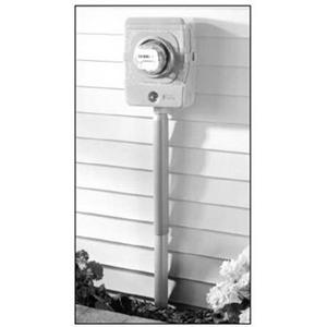 Carlon E954KXX Non-Metallic Slip Meter Riser; SCH 40, 2-1/2 Inch NPS