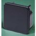 Carlon EGSEN Wiresafe® EGS Model End Cap; 4 Inch x 4 Inch, PVC, Gray