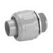 Carlon LT50 Carflex® Straight Liquidtight Non-Metallic Omni Connector; 1/2 Inch, Nylon 6/6