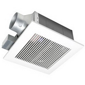 Panasonic FV-05VF2 WhisperFit Low Profile Ventilation Fan 15/14.7 Watt 120 Volt 0.13/0.12 Amp 50/30 cfm 0.4 Sones Ceiling Mount