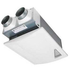 Panasonic FV-04VE1 WhisperComfort&trade; Spot ERV Ceiling Mount Insert Ventilator; 23/21/17 Watt, 120 Volt, 40/20/10 cfm, 0.8/<0.3 Sones, Ceiling Mount