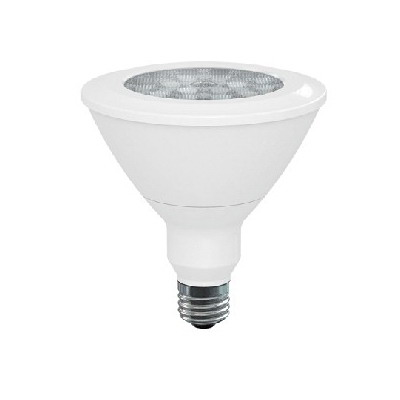GE Lamps LED18DP38W827/25-120 Replacement LED Directional Lamp; 18 Watt, 120 Volt, 2700K, 84 CRI, PAR38, Medium Base, 25000 Hour Life, White