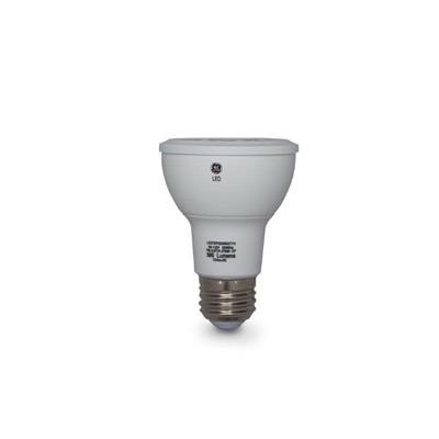 GE Lamps LED7DP20BB827/20-120 LED Directional Lamp; 7 Watt, 120 Volt, 2700K, 83 CRI, PAR20, Medium Screw (E26) Base, 25000 Hour Life