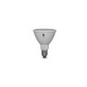 GE Lighting LED12DP3L2W83035-120 Long Neck LED Directional Reflector Lamp; 12 Watt, 120 Volt, 3000K, 84 CRI, PAR30L, Medium Base, 25000 Hour Life, White