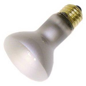 GE Lamps 45R20/130V-PRO-130 Proline® Incandescent Bulb; 45 Watt, 130 Volt, R20, Medium Base, 2000 Hour Life, Clear