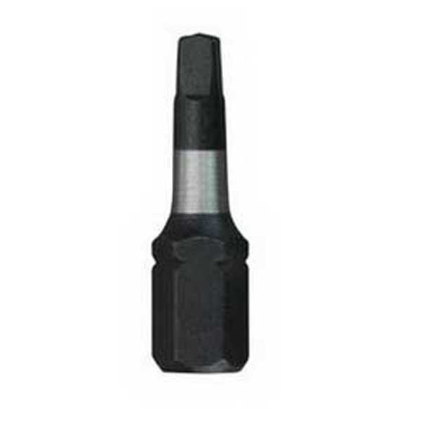 Milwaukee Tool  48-32-4423 Shockwave™ Square Recess Insert Bit; #3, 1 Inch Overall Length